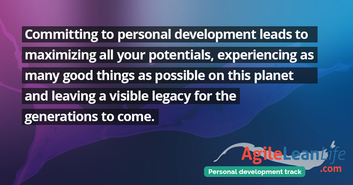 AgileLeanLife Personal Development Track Quote
